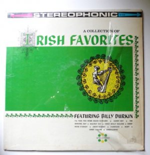 A Collection of Irish Favorites lp Featuring Billy Durkin s-110
