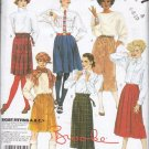 McCalls Uncut Pattern 2147 Misses Skirts in Sizes A 6 8 10
