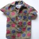 Ken Doll Sports Shirt 1960s Vintage