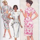 Butterick Pattern 5661 Misses Dress Size 8 10 12