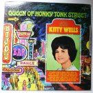 Queen of Honky Tonk Street lp - Kitty Wells dl74929