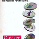 Quicken Users Guide Vers. 4 for Macintosh 0929804503