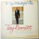 To My Wonderful One lp - Tony Bennett cl1429