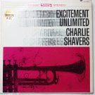 Excitement Unlimited lp - Charlie Shavers st1883