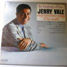 The Language of Love: Jerry Vale Sings Great Love Songs of the World cl2043