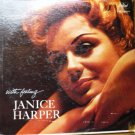 With Feeling by Janice Harper - T 1195 - Rare lp