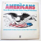 The Americans lp - Oscar Brand Narrating with Kate Smith spc3372
