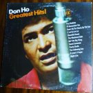 Greatest Hits lp by Don Ho R6357