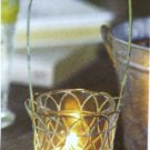 PartyLite Wire Lantern Votive Holder NIB Party Lite