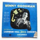 Benny Goodman - 1938 Carnegie Hall Jazz lp Concert Volume 1 ml4358