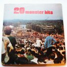 20 Monster Hits - Various Artists p2s5760 - 2 lp Albums