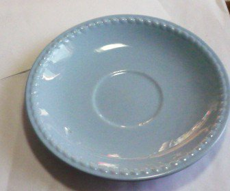Kraft Blue Saucer by Homer Laughlin Vintage - Estate Find
