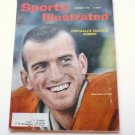 Sports Illustrated November 27 1961 Jimmy Saxton on Cover