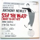 Stop The World I Want To Get Off - Anthony Newley Orig Cast lp