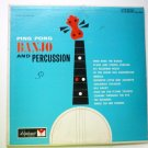 Ping Pong Banjo and Percussion - Jazz lp ds 2253