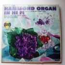 Hammond Organ In Hi-Fi lp - Leslie Carter c334926