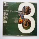 Three Of A Kind lp with Webb Pierce T Texas Tyler Patsy Cline dlp910