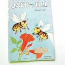 Jack and Jill Childrens Magazine - August 1954 - Bumble Bee Cover Issue