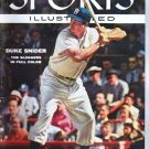 Sports Illustrated Magazine June 27 1955 Duke Snider Dodgers Giants