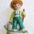Frankel Farming Gardening Boy with Label Attached