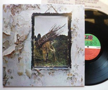 Led Zeppelin Zoso 1971 lp IV SD19129