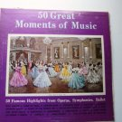 50 Great Moments of Music Album No 1 Double lp GM 3