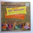 Ray Anthony  Swingin On Campus lp t-645 - Rare