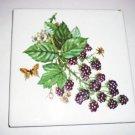 Imola Ceramica Coop Wall Tile Vintage Fruit Design