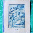 The Miller Composition Book - Antique School Book - No. 22