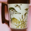 1980 National Wildlife Federation Plastic Mug Wood Duck