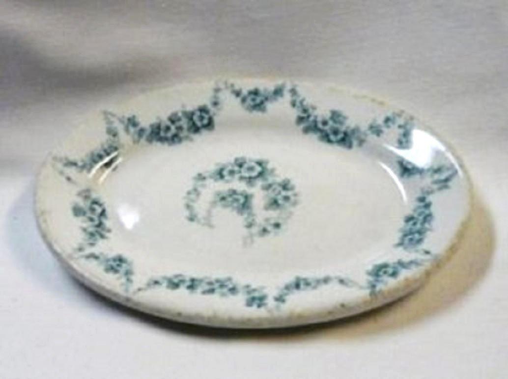 1896 John Maddock and Sons Ltd Heumann Vitrified Relish Dish