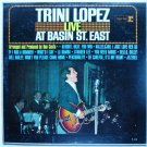 Live at Basin St East lp by Trini Lopez R 6134