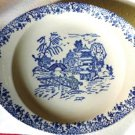 Vintage Blue on White Serving Bowl or Dish - Vegetable Dish