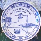 New York State 1873-1973 Centennial Grange Plate Mint - Fraternal Collectible