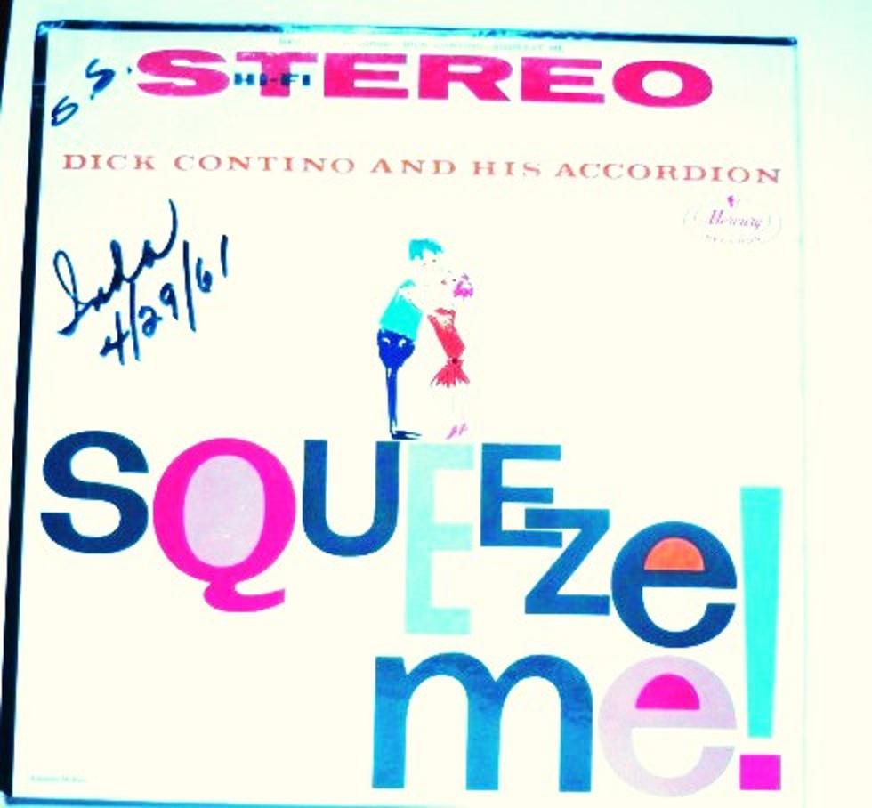 Squeeze Me lp - Dick Contino and his Accordion sr 60090