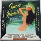 Come to Hawaii lp - Harry Hoomele ga237 sd