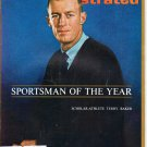 Sports Illustrated Mag January 7 1963 Terry Baker on Cover