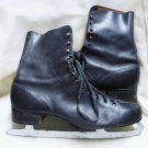 Mens Vintage Canadian Zephyr Black Ice Skates