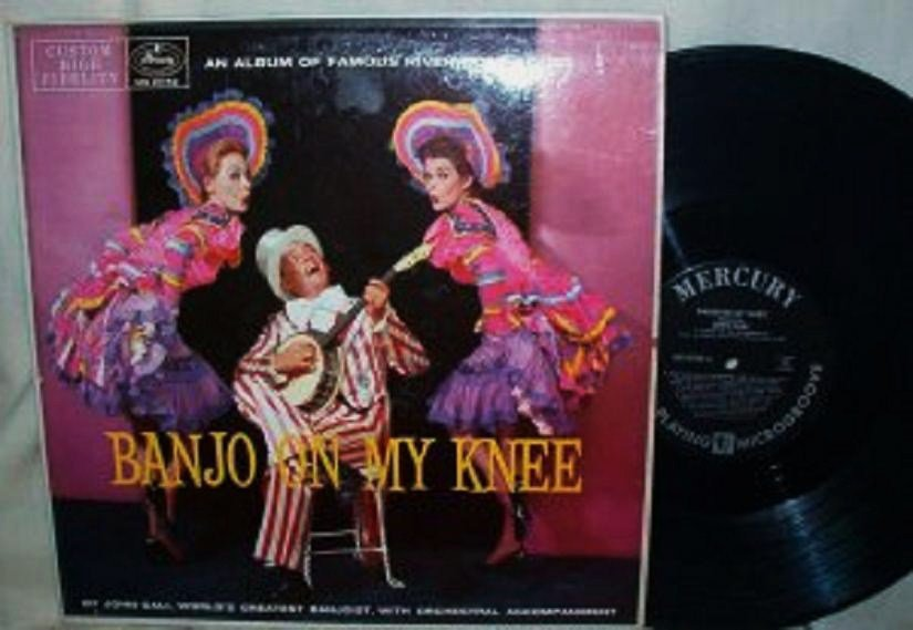 John Cali - Banjo On My Knee lp mg 20152 - Clean