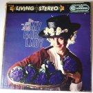 My Fair Lady Lerner and Loewes lp CAS 520