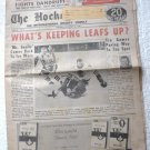 The Hockey News November 12 1966 Intl Hockey Weekly Glenn Hall on Cover