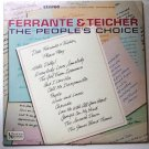The Peoples Choice lp - Ferrante and Teicher Stereo