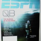 ESPN Magazine November 25 2013 Brees Manning on Cover