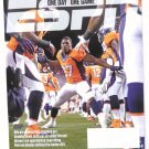 Espn Magazine December 9 2013 Chiefs Vs Broncos on Cover