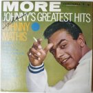 More Johnnys Greatest Hits lp cl1344 by Johnny Mathis