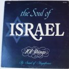 The Soul of Israel lp 101 Strings Stereo s5044