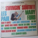 Swingin South lp by Les Paul and Mary Ford cs8728