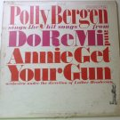 Polly Bergen lp Sings Hit Songs From Do Re Mi and Annie Get Your Gun