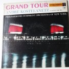 Andre Kostelanetz Grand Tour lp