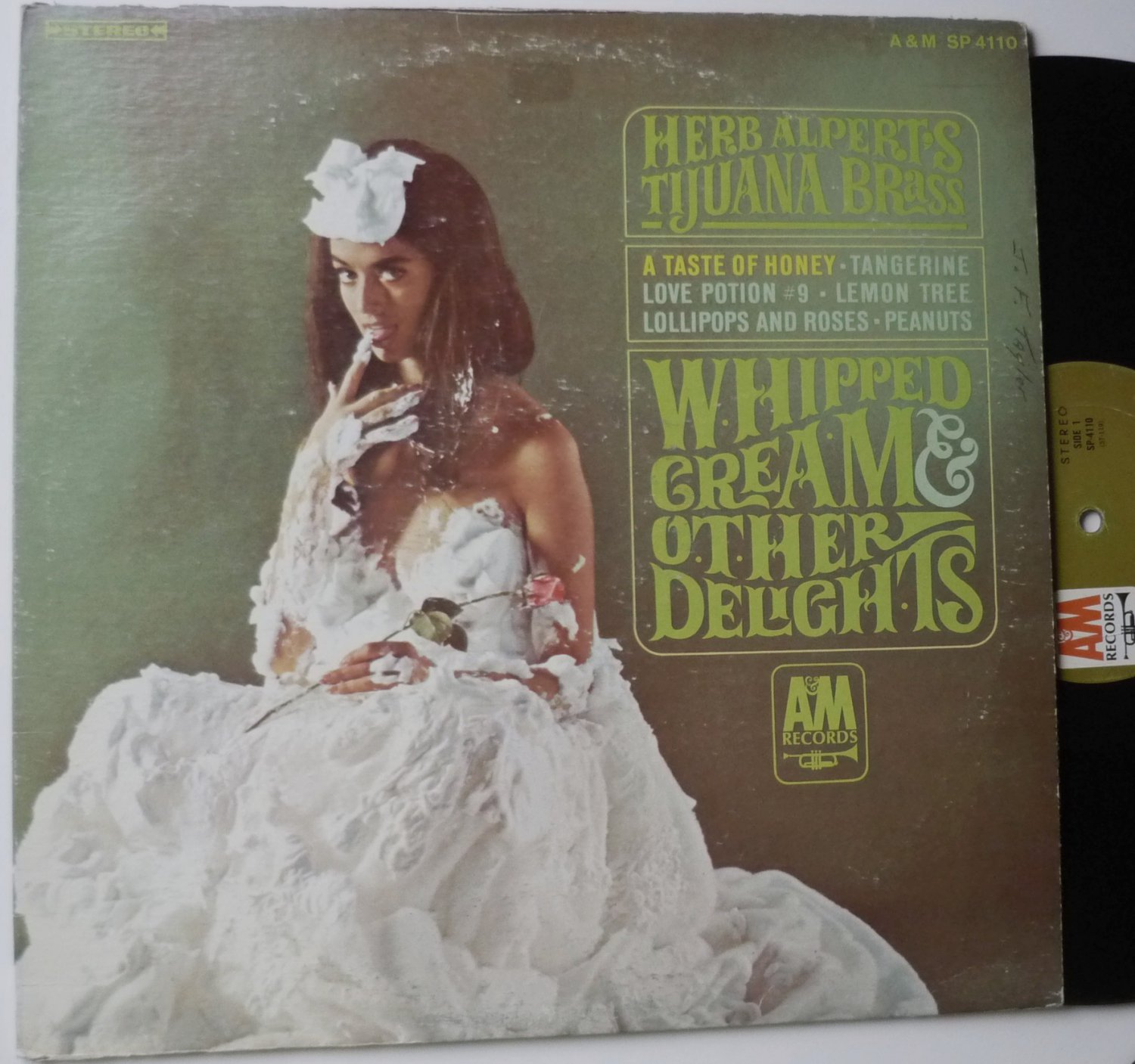 Herb Alperts Whipped Cream and Other Delights lp stereo